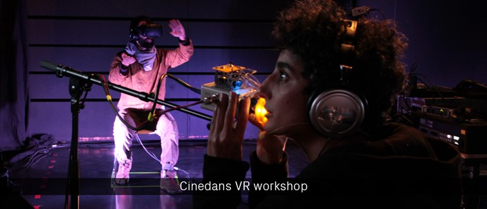 Cinedans VR workshop